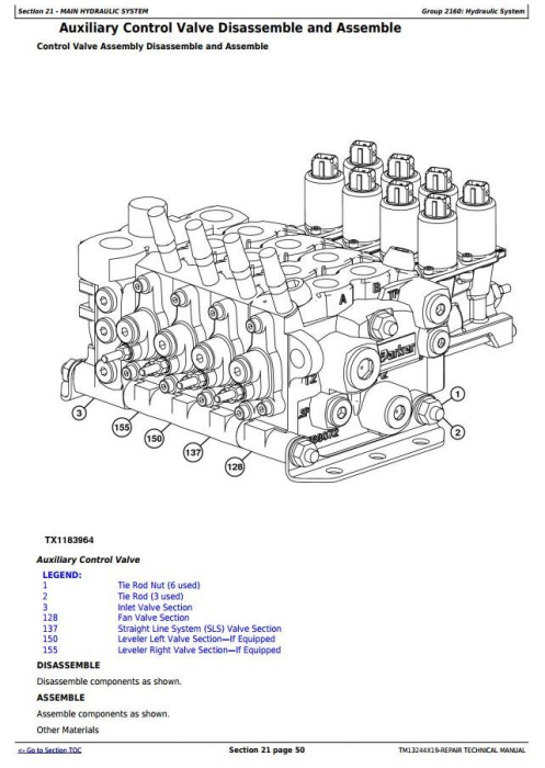 Third Additional product image for - John Deere 803M, 853M, 859M (Closed-Loop Hyd.Drv)Feller Buncher(SN.270423-) Repair Manual (TM13244X19)