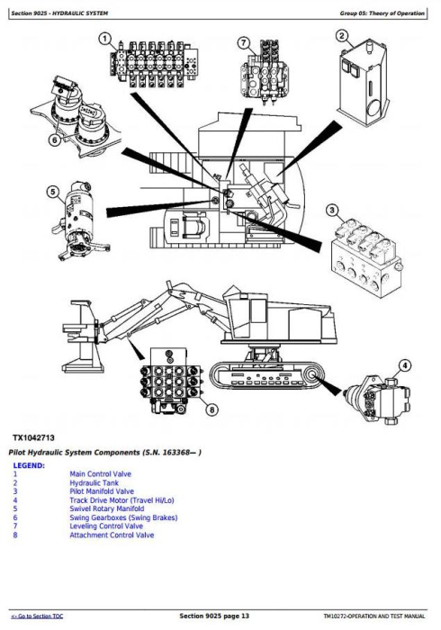 Third Additional product image for - John Deere 909J, 959J Traked Feller Buncher Diagnostic, Operation and Test Service Manual  (TM10272)