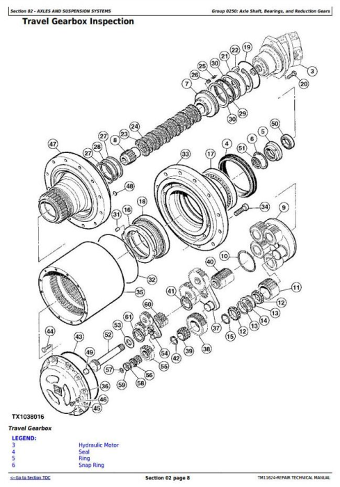 Second Additional product image for - John Deere 903K and 953K Tracked Feller Buncher Service Repair Technical Manual (TM11624)