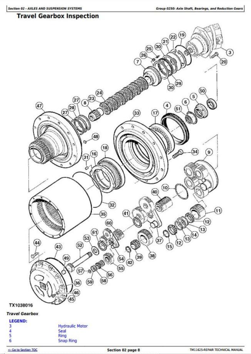 Second Additional product image for - John Deere 909K and 959K Tracked Feller Buncher Service Repair Technical Manual (TM11625)