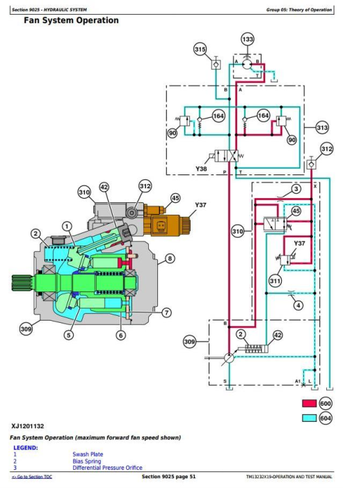 Fourth Additional product image for - John Deere 903M, 953M (SN.271505-)Track Feller Buncher Diagnostic & Test Service Manual (TM13232X19)