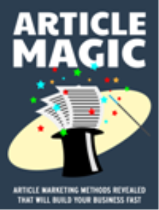 Article Magic | eBooks | Business and Money