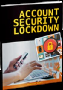Account Security Lockdown | eBooks | Internet