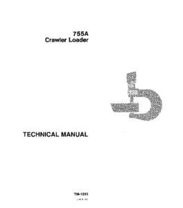 John Deere 755a Crawler Loader Service Technical Manual Tm1231 | eBooks | Automotive