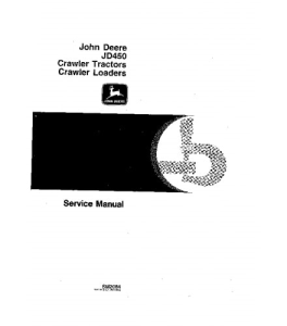 john deere 450 crawler tractor, 450 crawler loader service technical manual sm2064