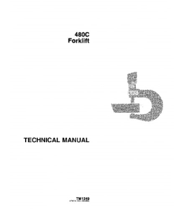 john deere 480c forklift service technical manual tm1249
