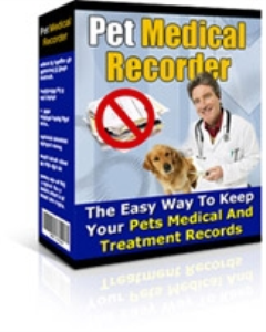 Pet Medical Recorder | eBooks | Pets