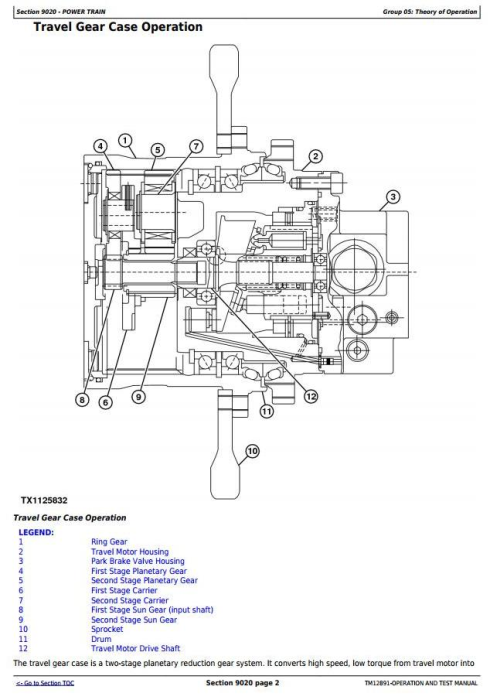 Second Additional product image for - John Deere 35G (SN.K270001—) Compact Excavator Diagnostic, Operation & Test Service Manual (TM12891)