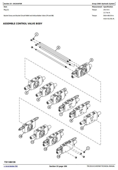 Fourth Additional product image for - John Deere 26G (SN. from K260001) Compact Excavator Service Repair Technical Manual (TM13324X19)