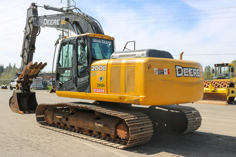 First Additional product image for - John Deere 200D and 200DLC Excavator Factory Repair Manual (TM10079)
