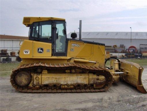 First Additional product image for - John Deere 850J Crawler Dozer Repair Manual TM1731