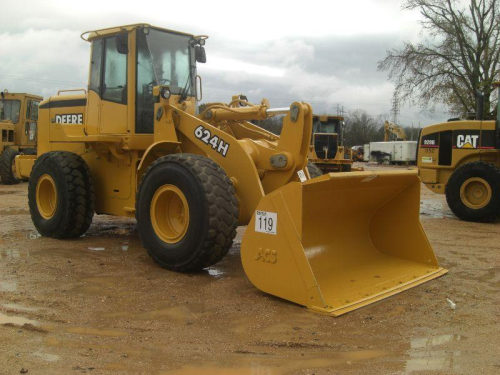 First Additional product image for - John Deere 624H Loader and TC62H Tool Carrier Repair Technical Manual  (TM1640)