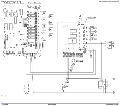 Fourth Additional product image for - John Deere 824, 832, 840 Trailed Crop Sprayers Diagnostic and Tests Service Manual (TM403419)