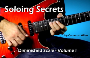 soloing secrets: diminished scale - vol. i
