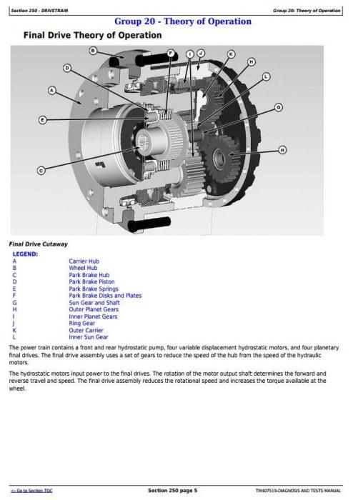 Fourth Additional product image for - John Deere R4040i Demountable Self-Propelled Crop Sprayer Diagnostic&Tests Service Manual (TM407519)