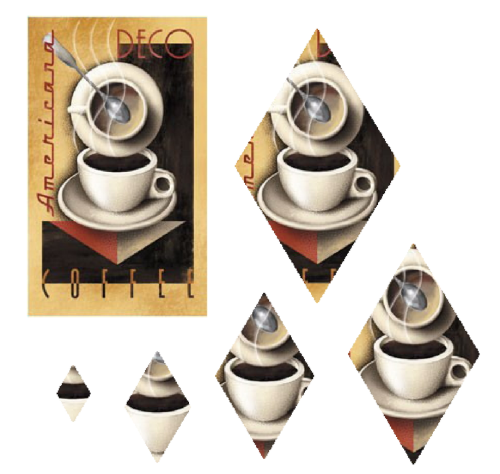 Third Additional product image for - Coffee - craft papers for cardmaking and scrapbooking