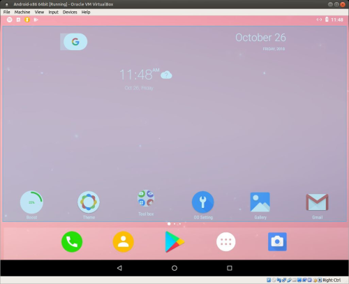 Second Additional product image for - Android-x86_64 Oreo 8.1 with GAPPS, Netflix, Aptoide, Clash of Clans and Spotify