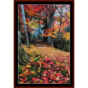 Autumn Colors - Autumn cross stitch pattern by Cross Stitch Collectibles | Crafting | Cross-Stitch | Other