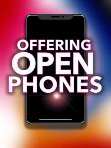 offering open phones special report