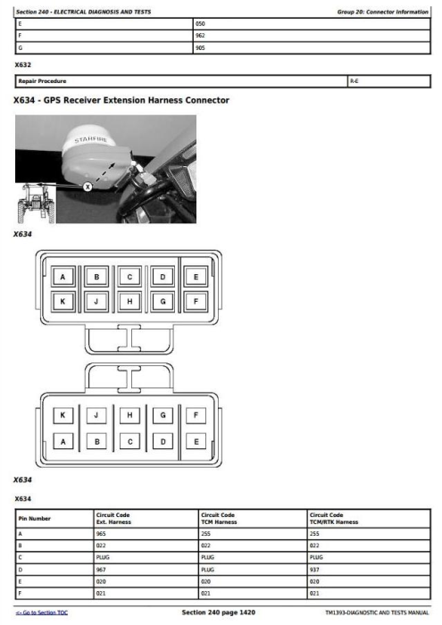 Third Additional product image for - John Deere 4930 Self-Propelled Sprayer Diagnosis and Test Service Manual (TM1393)