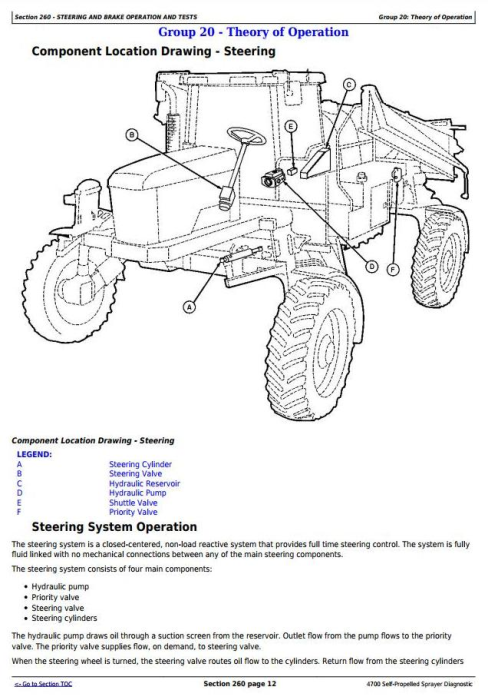 First Additional product image for - John Deere 4700 Self-Propelled Sprayers Diagnostic and Tests Service Manual (tm1833)