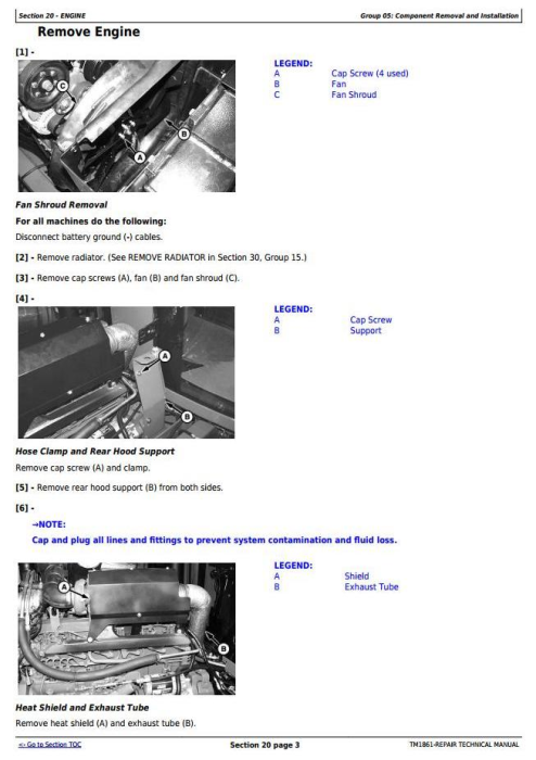 Second Additional product image for - John Deere 4710 Self-Propelled Sprayer (SN. from 004001) Service Repair Technical Manual (TM1861)
