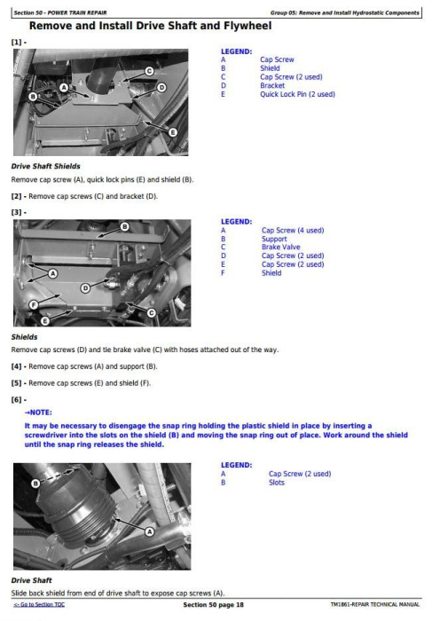 Third Additional product image for - John Deere 4710 Self-Propelled Sprayer (SN. from 004001) Service Repair Technical Manual (TM1861)