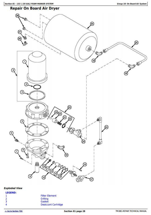 Fourth Additional product image for - John Deere 4710 Self-Propelled Sprayer (SN. from 004001) Service Repair Technical Manual (TM1861)
