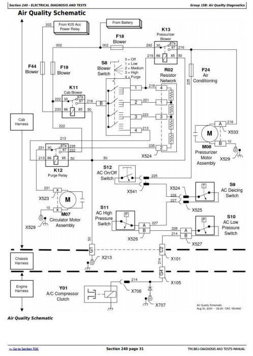 Third Additional product image for - John Deere 4710 Self-Propelled Sprayers (SN. -004000) Diagnostic & Tests Service Manual (TM1862)