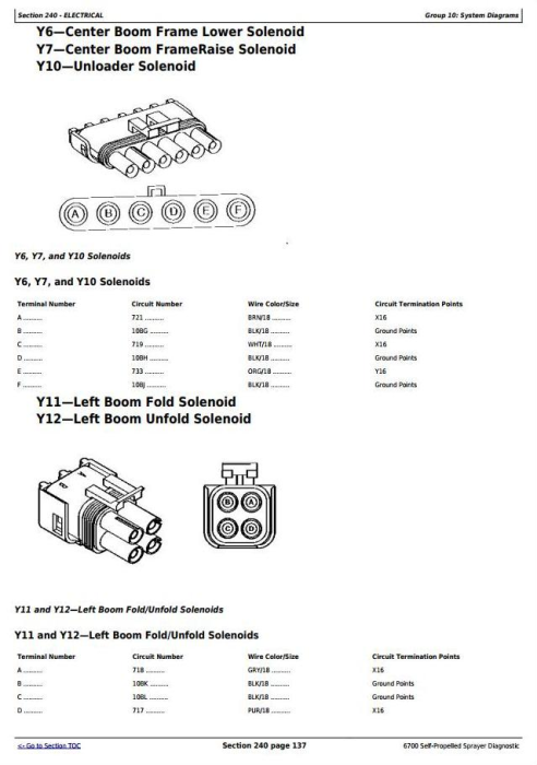 Second Additional product image for - John Deere 6700 Self-Propeled Sprayers Diagnostic and Tests Service Manual (TM1834)l