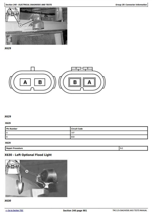 Third Additional product image for - John Deere 4920 Self-Propelled Sprayers Diagnostic and Tests Service Manual (TM2125)