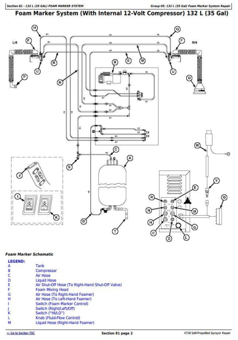 Fourth Additional product image for - John Deere 4720 Self-Propelled Sprayers Service Repair Technical Manual (TM2229)