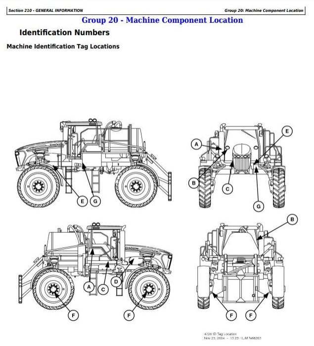 First Additional product image for - John Deere 4720 Self-Propelled Sprayer Diagnostic and Tests Service Manual (TM2230)