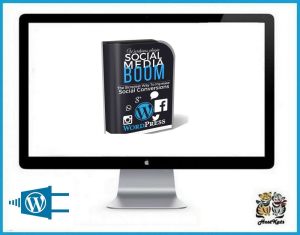 social media boom software wordpress plugin - digital download