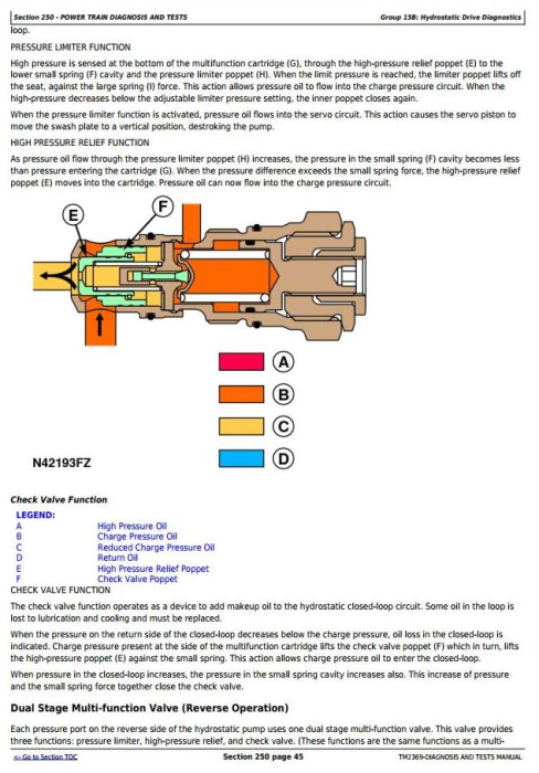 Fourth Additional product image for - John Deere 4730,4830 Self-Propelled Sprayers Diagnostic and Tests Service Manual (TM2369)