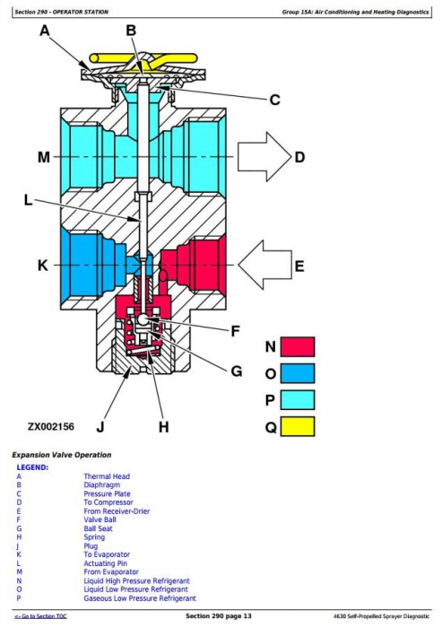 Fourth Additional product image for - John Deere 4630 Self-Propelled Sprayers (PIN Prefix 1YH) Diagnostic &Tests Service Manual (TM106219)