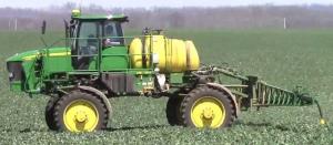 John Deere 4630 Self-propelled Sprayer (PIN Prefix 1NW) Diagnostic on