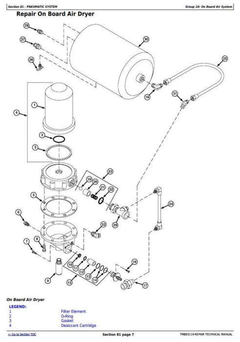 Fourth Additional product image for - John Deere 4630 Self-Propelled Sprayers (PIN Prefix 1NW) Service Repair Technical Manual (TM803119)