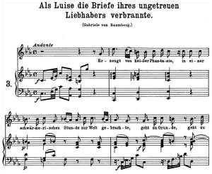 Als Luise die briefe K. 520,  High Voice in C minor, W.A. Mozart, C.F. Peters (Friedlaender). A4 | eBooks | Sheet Music