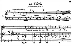 An Chloe K. 523 High Voice in E-Flat Major., W.A. Mozart., C.F. Peters (Friedlaender). A4 | eBooks | Sheet Music