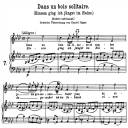 Dans un bois solitaire, K.308-295b, High or Medium Voice in A-Flat Major, W.A. Mozart., C.F. Peters (Friedlaender). A4 | eBooks | Sheet Music