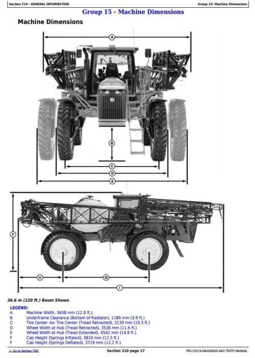 First Additional product image for - John Deere 4940 Self-Propelled Sprayers Diagnostic and Tests Service Manual (TM113519)