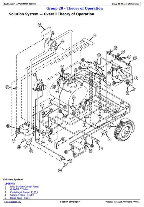 Second Additional product image for - John Deere 4940 Self-Propelled Sprayers Diagnostic and Tests Service Manual (TM113519)