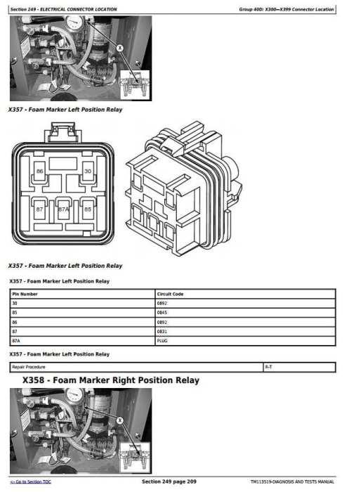 Third Additional product image for - John Deere 4940 Self-Propelled Sprayers Diagnostic and Tests Service Manual (TM113519)