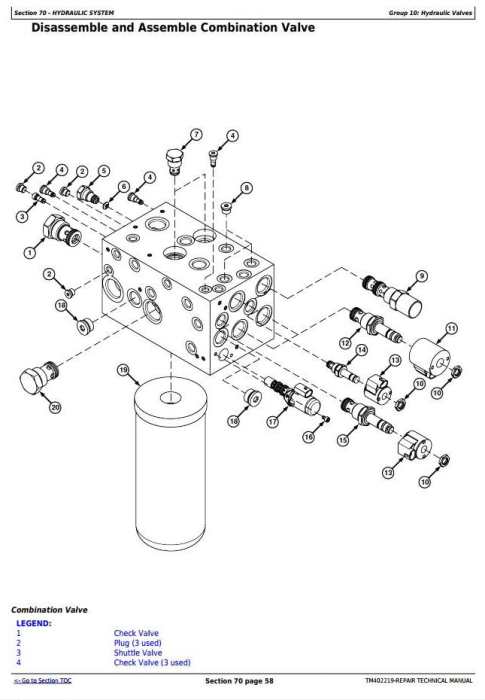 Third Additional product image for - John Deere 5430i Demountable Self-Propelled Crop Sprayer Service Repair Technical Manual (TM402219)