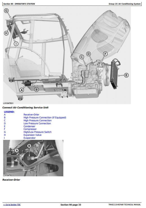 Fourth Additional product image for - John Deere 5430i Demountable Self-Propelled Crop Sprayer Service Repair Technical Manual (TM402219)
