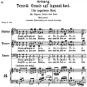 Grazie agl' inganni tuoi, K.532, High Key in B-Flat Major (Terzett), W.A. Mozart., C.F. Peters (Friedlaender). A4   eBooks   Sheet Music