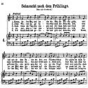 Sehnsucht nach dem frühlinge (Komm, lieber Mai) K.596, High or Medium Voice in F Major, W.A. Mozart., C.F. Peters (Friedlaender). A4 | eBooks | Sheet Music