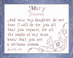 Name Blessings - Mary 2 | Crafting | Cross-Stitch | Other