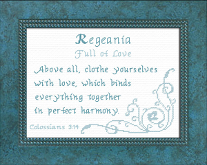 Name Blessings - Regeania | Crafting | Cross-Stitch | Other